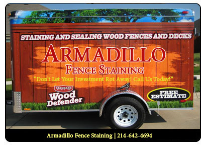 Services Armadillo Fence Staining